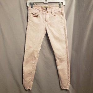 Zara light pink skinny slim jean size 2